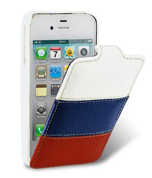 Чехол Melkco Jacka Type Leather Case original iPhone 4/4S (The Nations Russia)