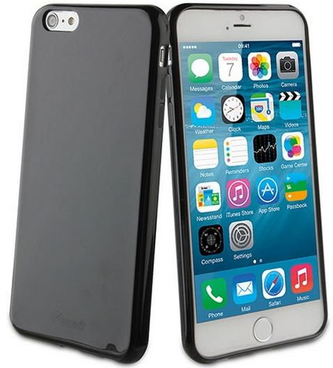 Чехол-накладка TPU cover case for iPhone 6 plus (black)