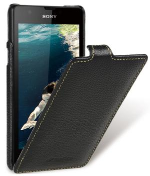 Чехол Melkco Jacka leather case for Xperia ZR M36h (black)