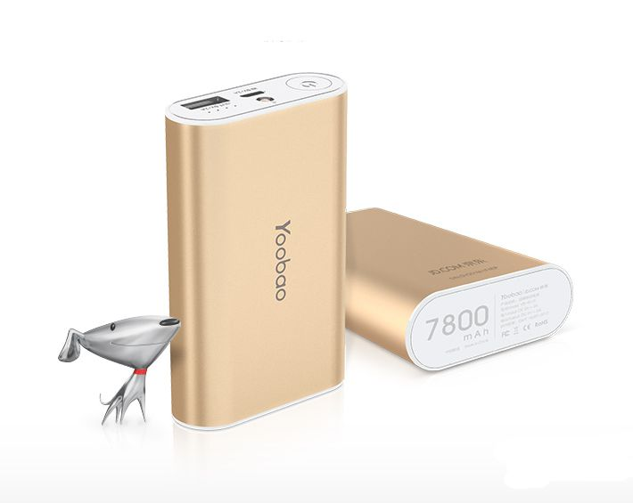 Мобильная батарея Yoobao Power Bank 7800 mAh Master YB-M3 (gold)