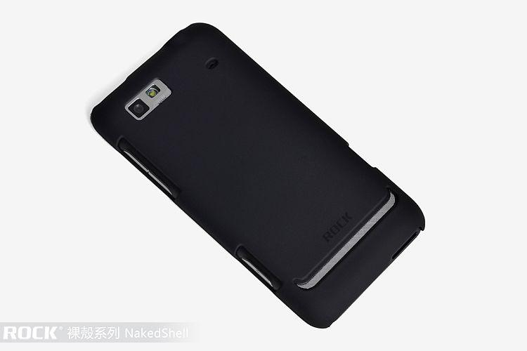 ROCK Naked Shell back cover для Motorola XT928 (black)