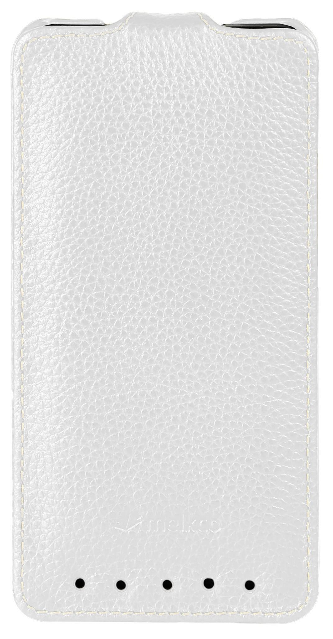 Чехол Melkco Jacka leather case for HTC One M7 (white)