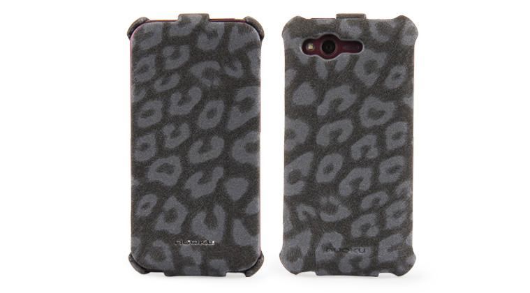 Чехол NUOKU LEO stylish leather case for HTC Rhyme G20 (black)