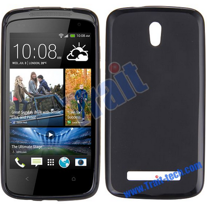 Чехол-накладка TPU cover case for HTC Desire 500 (black)