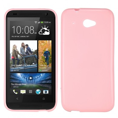 Чехол-накладка TPU cover case for HTC Desire 601 (pink)
