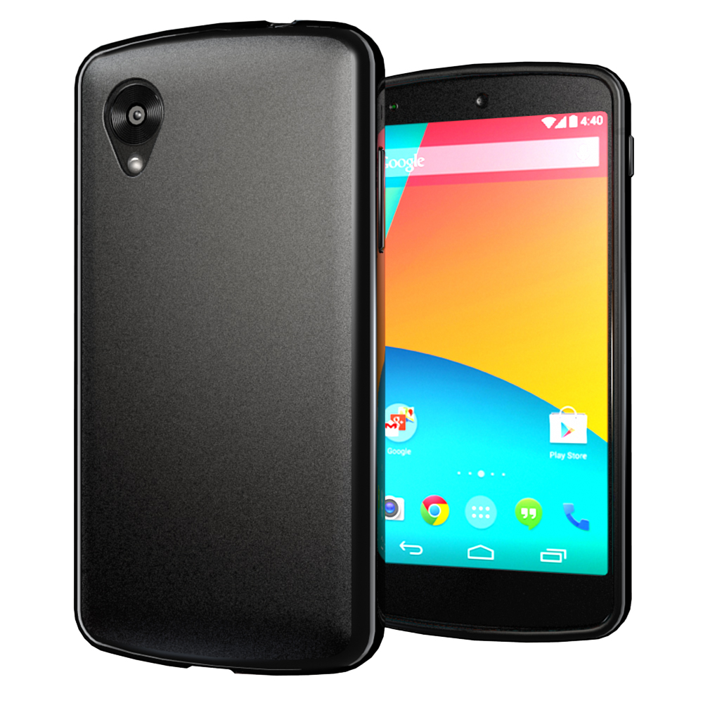 Чехол-накладка TPU cover case for LG Nexus 5 D820/D821 (black)